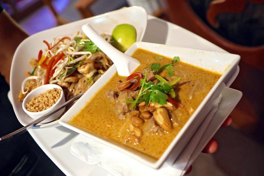 Massaman curry at Thai Botanico