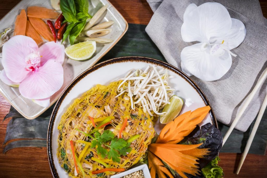 Mouth-watering and authentic Thai dishes